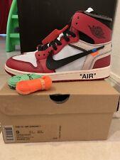 9e15a6e1160661 item 5 Nike Air Jordan 1 Retro The 10 Off White Chicago Size 9 Ds -Nike Air  Jordan 1 Retro The 10 Off White Chicago Size 9 Ds