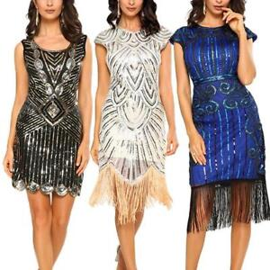 Image Is Loading 1920 039 S Fler Dress Great Gatsby Party
