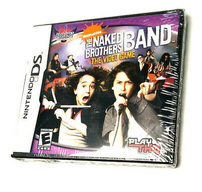 The Naked Brothers Band: The Video Game Wii [Factory