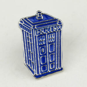 Doctor-Who-Tardis-Badge-Brooches-Enamel-Pin-Bag-Hat-Cloth-Lapel-Pin-Accessories