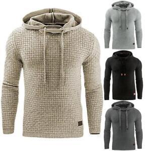 Mens-Warm-Jacket-Outwear-Jumper-Hoodies-Coat-Sweater-Hooded-Pullover-Sweatshirt