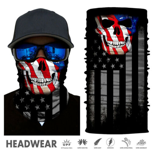 Balaclava 3D Animal Face Tube Bandana Multifunctional Headwear Neck Gaiter Scarf