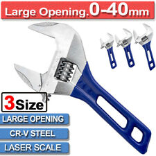 "Adjustable Wrench//Shifting Jaw Opening 1//2//4//6 PCS 12/"" Ajustable Spanner 40mm"