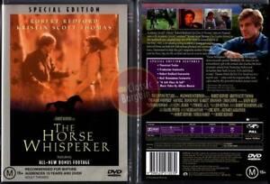 THE-HORSE-WHISPERER-Robert-Redford-Scarlett-Johansson-NEW-DVD-Region-4-Australia