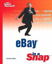eBay in a Snap (Sams Teach Yourself) by Gralla, Preston
