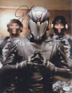 Gi Joe Cobra Commander Luke Bracey Autographed Signed 11x14 Photo Aa Ebay