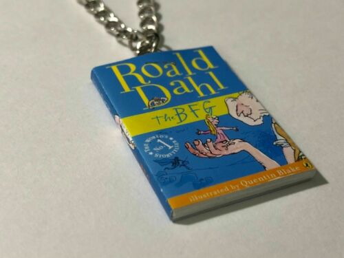 Choose From 6 Books Handmade Miniature Roald Dahl Book Pendant Necklace