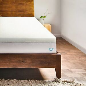 "2"" Memory Foam Mattress Topper & Bed Pad by PharMeDoc - All Sizes Available"