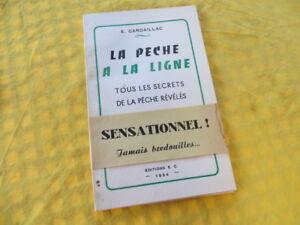 Cardaillac 1954 La pêche a la ligne tous les secrets