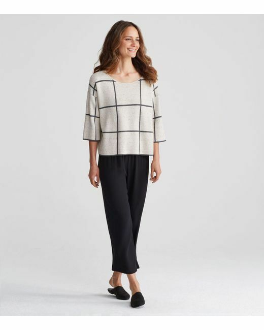 NWT Eileen Fisher Maple Oat Oat Oat Peppered Organic Cotton Wool Top Size XL MSRP  258 f35cff