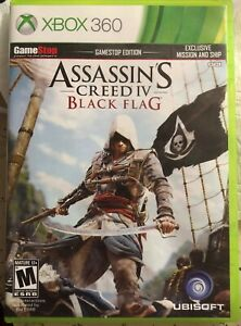 Details about Assassins Creed IV Black Flag Xbox 360 Gamestop Edition  Exclusive Mission / Ship