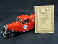 """Schuco Mercedes-Benz 170 V Tankwagen 1:18 Red / Black """"Standard Oil"""" (JS)"""