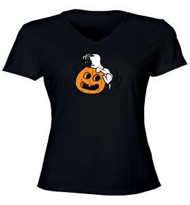 Halloween-Snoopy-Pumpkin-Jack-O-039-Lantern-Peanuts-Juniors-Teen-Tee-T-Shirt-S-2X