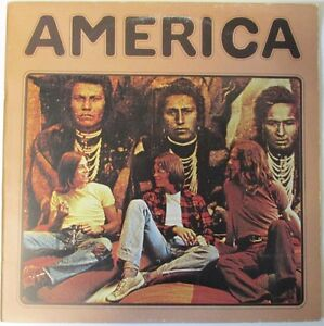 America-Self-Titled-K-46093-A1-B1-First-Press-Vinyl-Lp-Record-Album-1970s