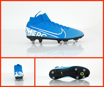 NIKE scarpe calcio SUPERFLY 7 ACADEMY SG PRO AC BQ9141 414 AZZURRO agosto 2019   eBay