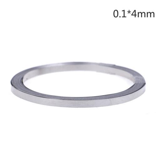 10m Nickelband aus reinem Ni-Blech für Li 18650 Punktschweißen 10mmDBSD