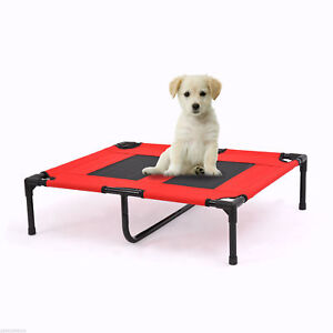 Elevated Pet Bed Cot Dog Camping Sleeper Outdoor Puppy w/ Center Support