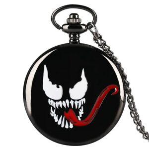 Marvel-Series-Pocket-Watch-Venom-Theme-Quartz-Pendant-Watches-for-Women-Mens