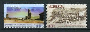 Armenia-2017-Neuf-sans-charniere-Historical-Capitals-Shirakavan-KARS-2-V-Set-Tourism-STAMPS