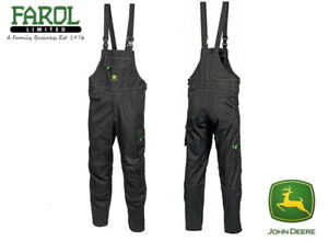 Genuine-John-Deere-Bib-amp-Braces-Dungarees-Workshop-Farm-Yard