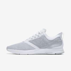 Aj0189 Sur Strike Nike Blanc Gris Zoom Chaussures Homme Détails 100 CtsQhdrx