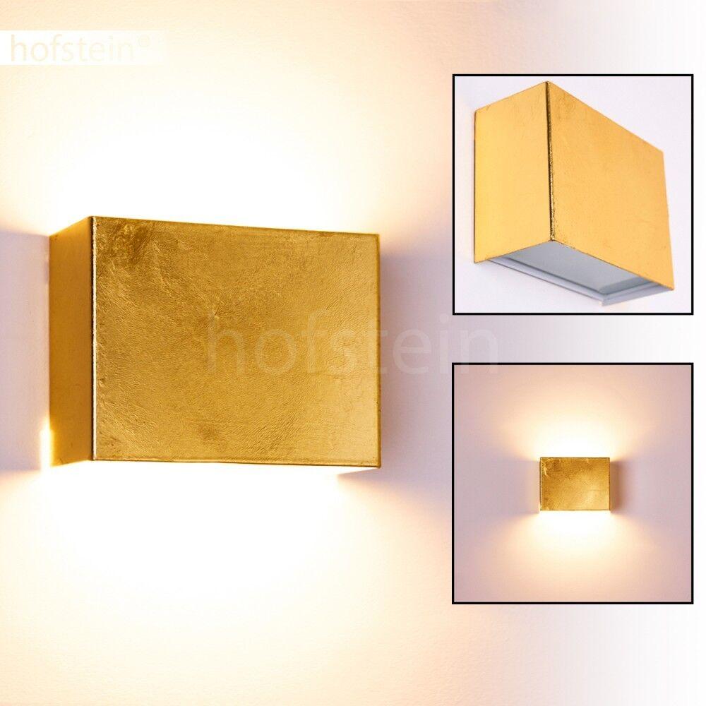 Design Wandlampe Strahler Flur Diele Leuchten Schlaf Wohn Zimmer Büro Gold | Genial