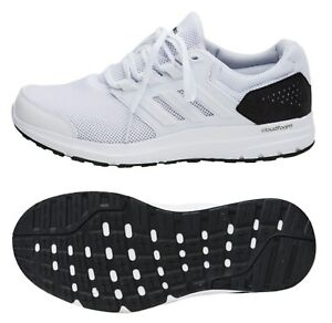 6c9fed956cb Adidas Men Galaxy 4 Shoes Running White Training Athletic Sneakers ...