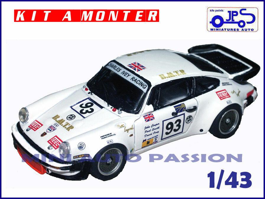 Kit JPS - Porsche 930 LM - 24 H du Mans 1983  - Prépeint - ref   KP420