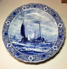 Porceleyne Fles Delft / Handarbeit / 42 cm Wall Plate / H. W. Mesdag