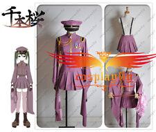 Vocaloid Miku Senbonzakura Uniform Cosplay Costume Custom Size