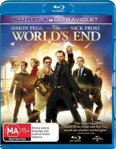 1 of 1 - The World's End (BluRay, 2013) // No Ultraviolet