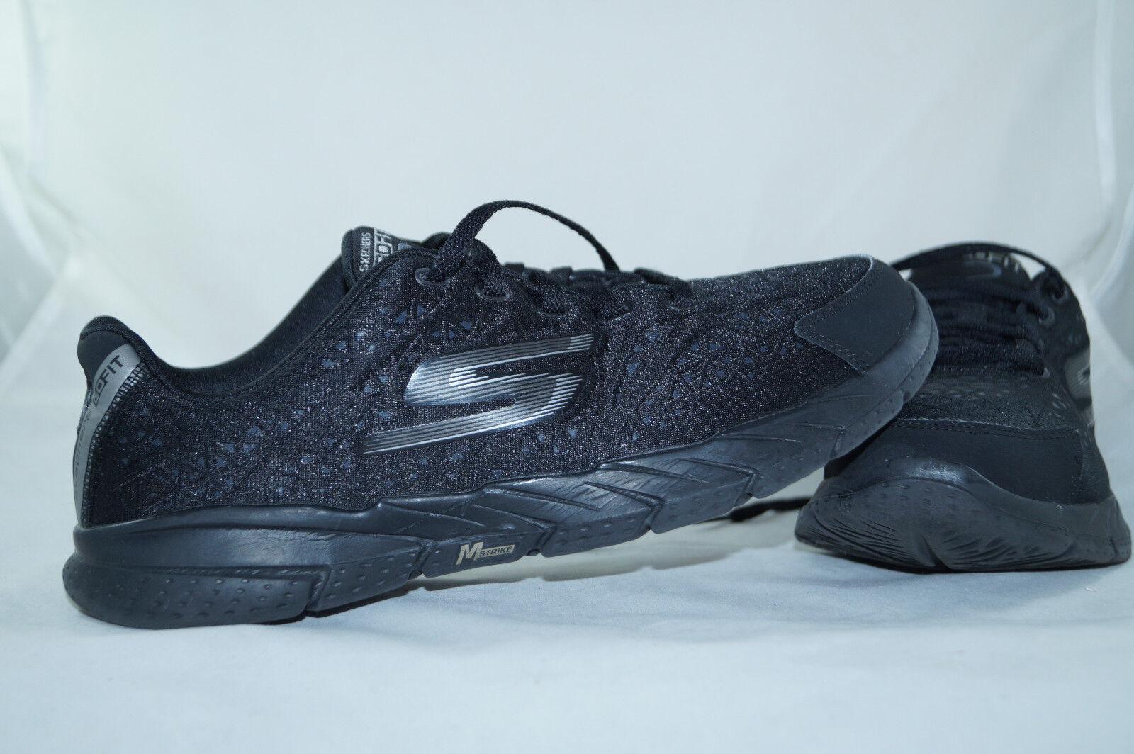 Skechers Gofit 2 Memory Form Fit Gr  37,5 black Laufschuhe Sportschuhe