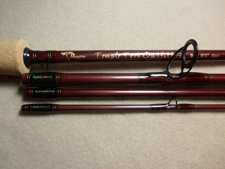 Custom Temple Fork Outfitters Mangrove Fly Rod Rod Fly TFO 9' 9 wt. Custom Built for You 09c70b