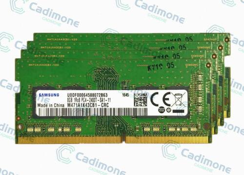 For Samsung 8GB 16GB 32GB 1RX8 DDR4-2400Mhz PC4-19200 SO-DIMM Laptop Memory R1US