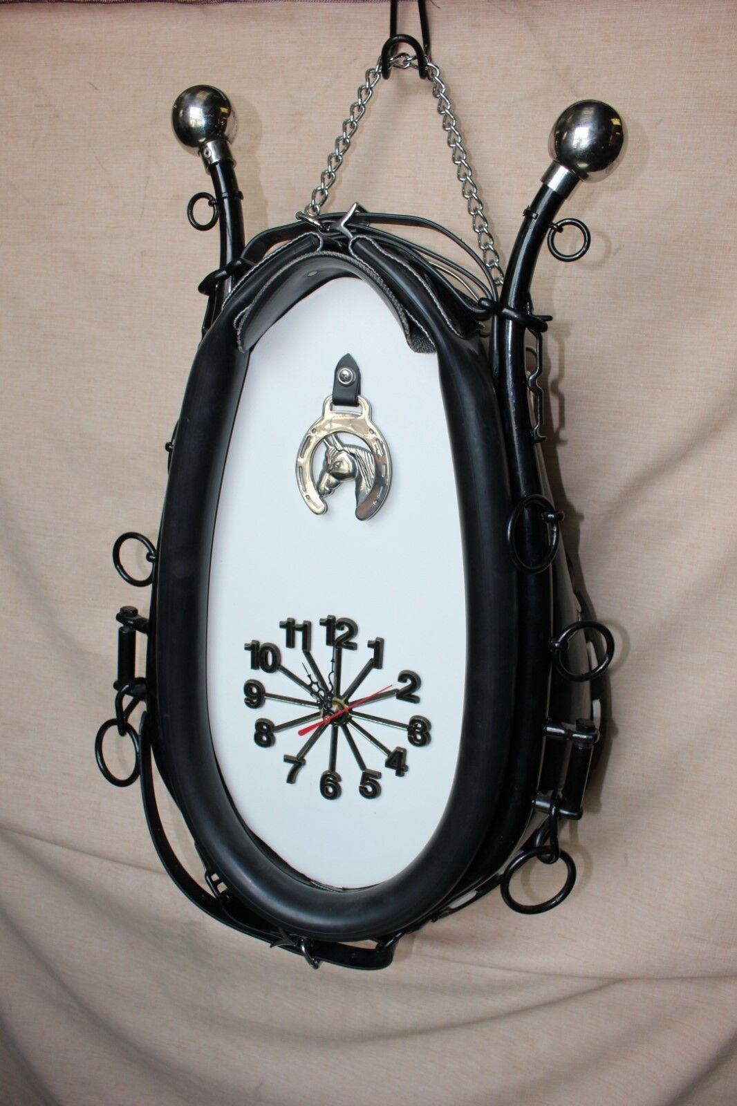 35-21 Nuevo Reloj Collar de caballo de tiro con fondo blancoo Hames