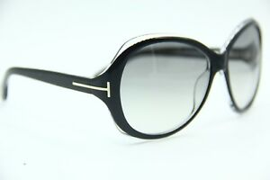 b575463103 NEW TOM FORD TF171 03B CECILE BLACK AUTHENTIC FRAME SUNGLASSES 58-14 ...