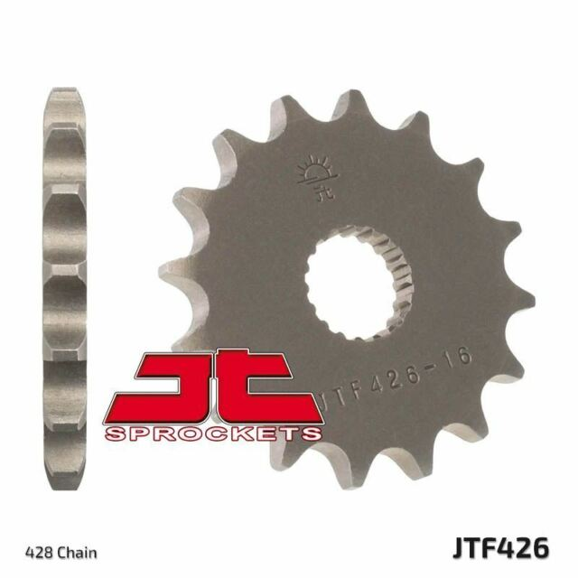 JT Front Sprocket JTF426 13 Teeth fits Yamaha YT125 G,H (Tri Moto) 80-81