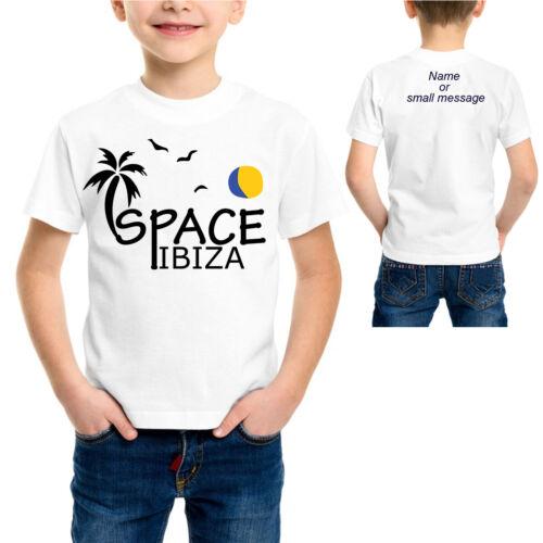 Kids Space Ibiza House Clubbing Dancing T-Shirt Rave Raving Tee tshirt