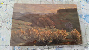 Deutschland Baden-württemberg Im Schwarzwald Sonnenaufgang Ak Postkarte 5834