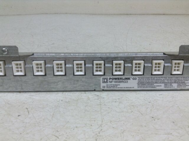 SQUARE D POWERLINK CONTROL BUS FOR NF PANEL BOARDS NF21SBLG3