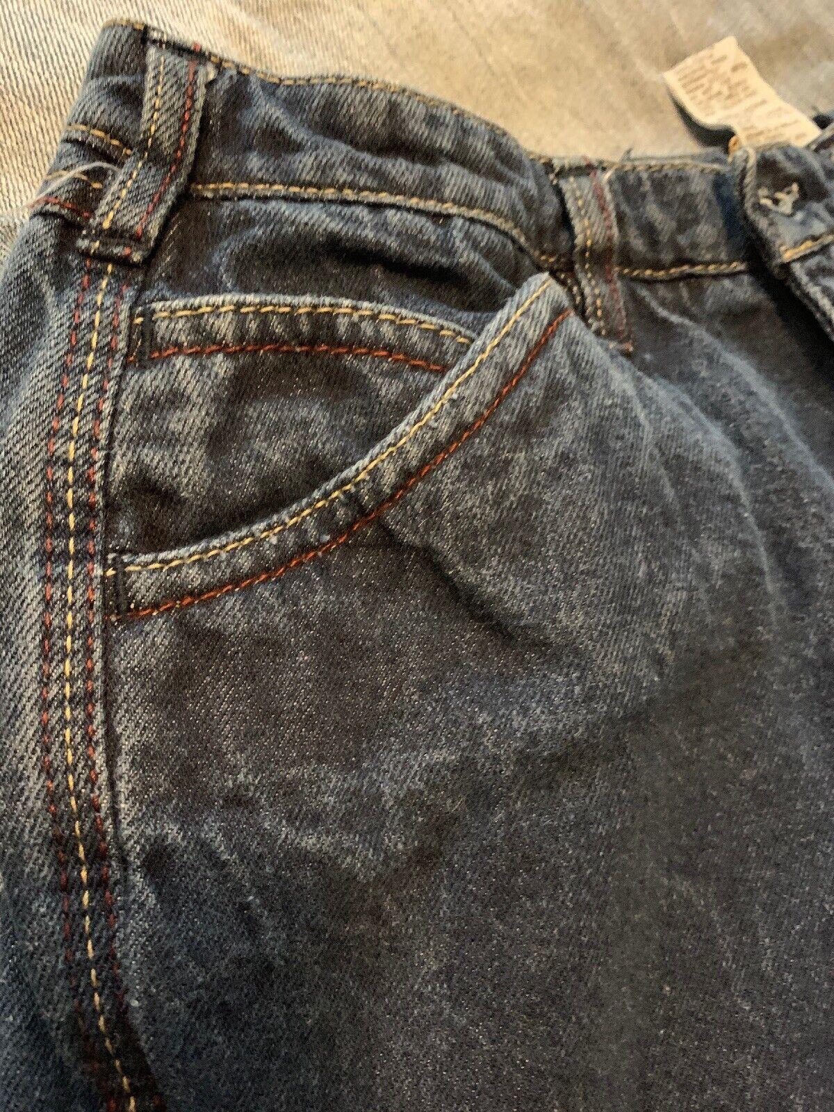 """Vintage N Est Ce Pas indigo denim jeans 24"""" waist… - image 7"""