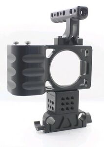 Top-handle-BMPCC-Cage-with-15MM-Rods-baseplate-for-BlackMagic-Pocket-DSLR-rig