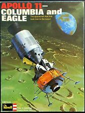 REVELL Kit No. H-1862, APOLLO 11 COLUMBIA and EAGLE, 1/96, - Hard-to-Find