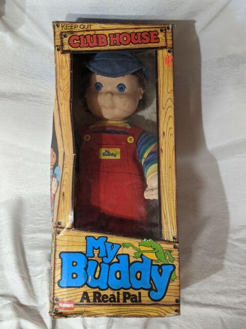 My Buddy Doll 22 Brunette Hair Blue Eyes Boy Vintage 1991 Playskool For Sale Online Ebay