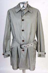 John-Varvatos-Nylon-Raincoat-Mac-Jacket-Green-Grey-Medium-EU48-RRP-995-1295