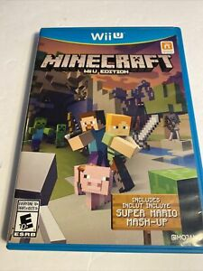 Minecraft: Wii U Edition (Nintendo Wii U, 2016) Complete Tested