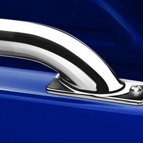 For Chevy Silverado 2500 HD 07-13 Polished Stainless Steel Bed Rails