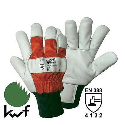 Wiesel FORST-Schutzhandschuhe Forstschutz Gr.9-11 Forsthandschuh Handschuhe
