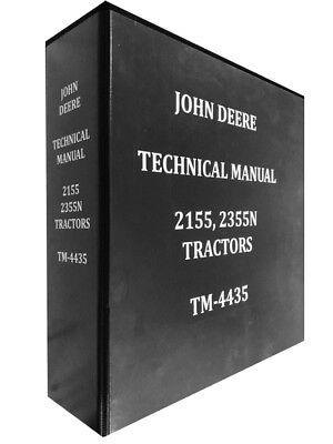 john deere 2155 wiring diagram free picture 2155 john deere technical service shop repair manual huge book ebay  repair manual huge book