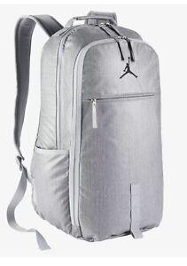 a8ad5073eadf Image is loading Nike-Jordan-Jumpman-Herringbone-Backpack-BA8051-012-Wolf-